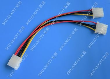 Trung Quốc Molex 4 Pin To Molex 4 Pin Cable Harness Assembly Pitch 5.08mm For Computer 200mm nhà cung cấp