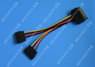 Trung Quốc SATA To Dual SATA Data Cable Splitter SSD HDD SATA Cable For Hard Drive nhà cung cấp
