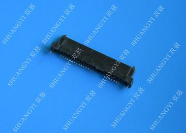 Trung Quốc Black PCB Wire To Board Connectors , 22 Pin Jst Crimp Type Connector nhà cung cấp
